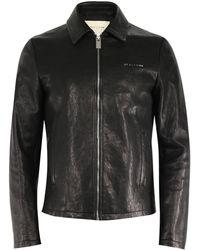 1017 ALYX 9SM Leather Jacket - Black