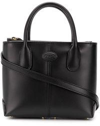Tod's Mini Tote Bag Black