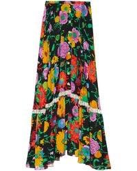 Gucci Ken Scott Floral Sk - Multicolor