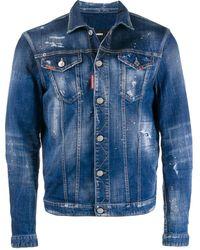 DSquared² Blue Denim Jacket