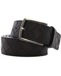 Bottega Veneta Belt Maxi Braided Brown