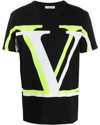Valentino T-shirt V Logo - Nero