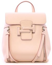 Tod's Mini Double T Backpack Pink