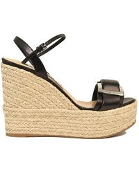 Sergio Rossi Sandal With Rope - Black