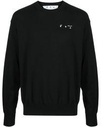 Off-White c/o Virgil Abloh Logo Jumper - Black