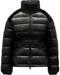 Moncler - Celepine Black Short Down Jacket - Lyst