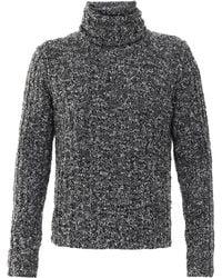 Dolce & Gabbana Turtleneck Sweat - Gray