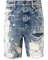 Amiri Ached Bermuda Shorts - Blue