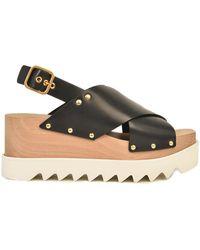 Stella McCartney Elyse Sandals - Black