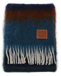 Loewe Scarf Stripes Multicolour - Blue