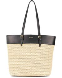 Saint Laurent Shopping Bag Boucle Mini - Nero