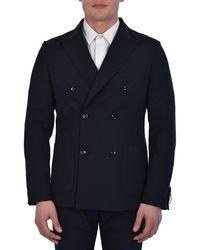 Tonello Wool Jacket - Blue