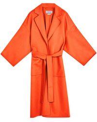 Loewe Over Coat Arancio - Arancione