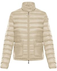 Moncler Lans Down Jacket - Natural
