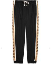 Gucci GG Jogging Pants - Black