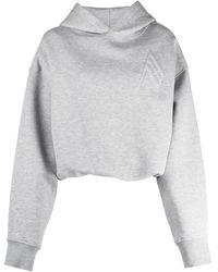 The Attico Ay Maeve Sweatshirt - Grey