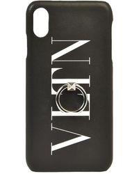 Valentino Iphone Xs Max Vltn Cover - Black