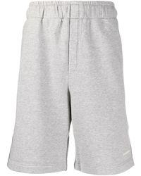 Golden Goose Deluxe Brand Cotton Shorts Gray