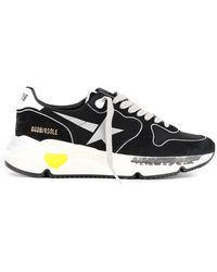Golden Goose Deluxe Brand Running Sole Trainers - Black