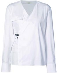 1017 ALYX 9SM White Wrap Shirt