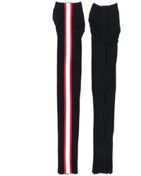 CALVIN KLEIN 205W39NYC Wool Sleeves With Trim - Black