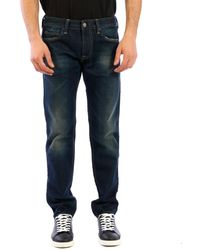 Htc Los Angeles Blue Denim Jeans