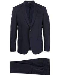 Tonello Stretch Wool Suit - Blue