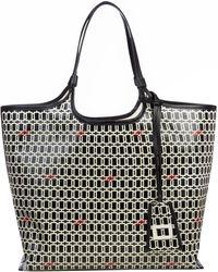 Roger Vivier Grand Vivier Shopping Bag - Black