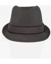 4df73e89646 Lyst - Borsalino Men s Tweed Baseball Cap in Blue for Men