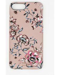 Le Chateau - Floral Print Case For Iphone 6/6s Plus - Lyst