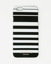 Le Chateau - Stripe Print Case For Iphone 6/6s - Lyst
