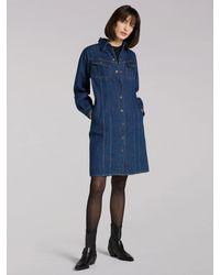 Lee Jeans Eu Volume Sve Dress - Blue
