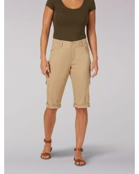 Lee Jeans Flexgo Relaxed Fit Cargo Skimmer - Natural