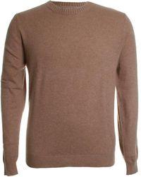 Stenströms Cashmere Crew Neck Sweater - Natural