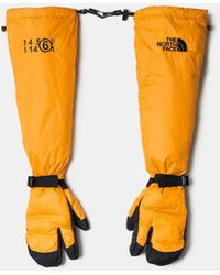MM6 by Maison Martin Margiela The North Face Down Gloves - Orange