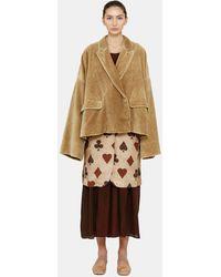 Uma Wang Keene Velvet Jacket - Multicolor