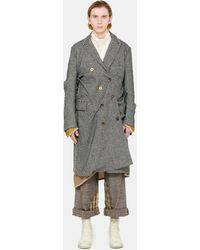 Commun's Twisted Coat - Gray