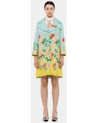 Andrew Gn Chinoiserie Woven Jacket - Blue