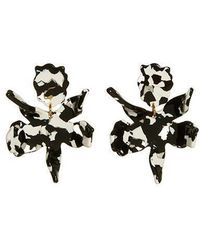 Lele Sadoughi - Small Paper Lily Earring - Lyst