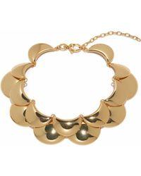 Lele Sadoughi - Golden Cove Necklace - Lyst