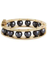 Lele Sadoughi - Stone Round Slider Bracelet - Lyst