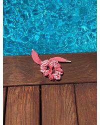 lemlem Semira Scrunchie (swim Fabric) - Multicolor