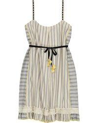 lemlem - Ami Fringe Mini Dress - Lyst