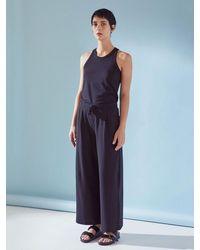 Kowtow Wide Leg Pant   Black - Multicolor