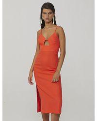 Paloma Wool Dalini Linen Dress | Red