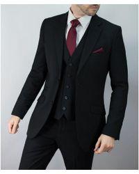 leonard silver - Black 3piece Suit - Lyst
