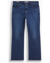 Levi's 725tm Bootcut Jeans Hoge Taille (grote Maat) - Blauw