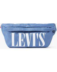 Levi's Serif Banana Sling Bag - Blue