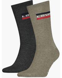Levi's ® Regular Cut Socks 2 Pack - Green