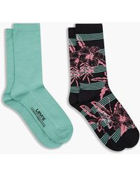 Levi's Socks Regular Cut Stripe Noir